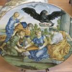 C.sf.,_castelli,_carmine_gentile,_ovale_con_allegoria_dell'accademia_degli_illuminati,_1730-1750