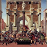 Overthrow of the Roman Monarchy by Sandro Boticelli