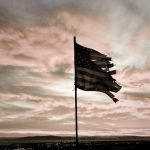 flag torn