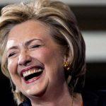 hillary-laugher