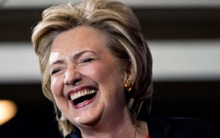 hillary-laugher