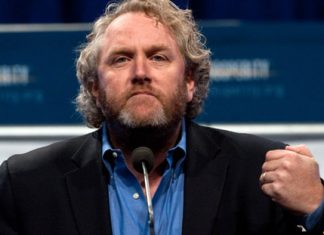 file photo of Andrew Breitbart, conservative warrior.
