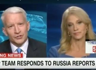 Kellyanne Conway and Anderson Cooper have it out over the Buzzfeed fake news story.