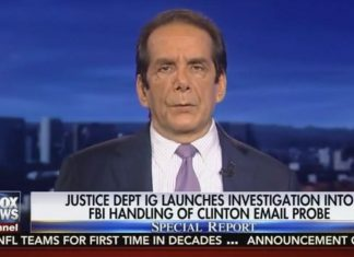 Charles Krauthammer on Special Report January 12 2017